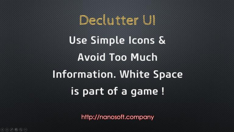 UI/UX Tips